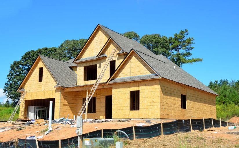 Stosownie z bieżącymi nakazami świeżo wznoszone domy muszą być oszczędnościowe.